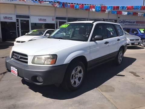 2003 Subaru Forester for sale at Californiacar Sales in Santa Maria CA