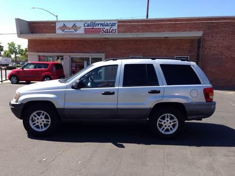 2002 Jeep Grand Cherokee for sale at Californiacar Sales in Santa Maria CA