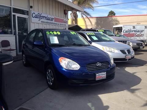 2009 Hyundai Accent for sale at Californiacar Sales in Santa Maria CA
