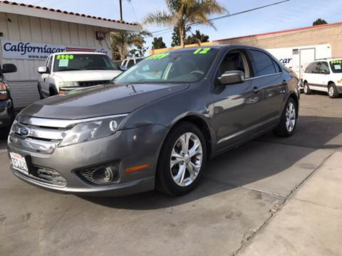 2012 Ford Fusion for sale at Californiacar Sales in Santa Maria CA