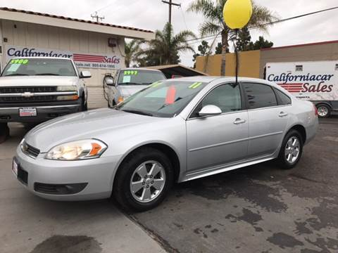 2011 Chevrolet Impala for sale at Californiacar Sales in Santa Maria CA