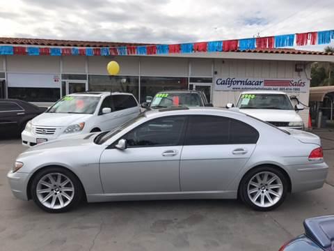 2006 BMW 7 Series for sale at Californiacar Sales in Santa Maria CA