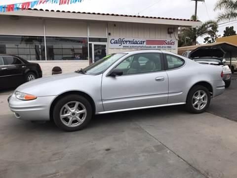 2004 Oldsmobile Alero for sale at Californiacar Sales in Santa Maria CA