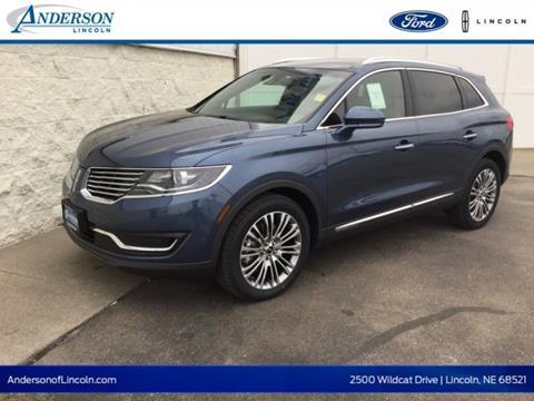 2018 Lincoln MKX for sale in Lincoln, NE