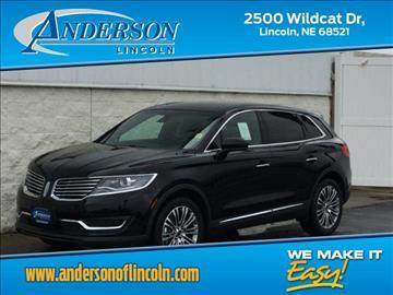 2017 Lincoln MKX for sale in Lincoln, NE