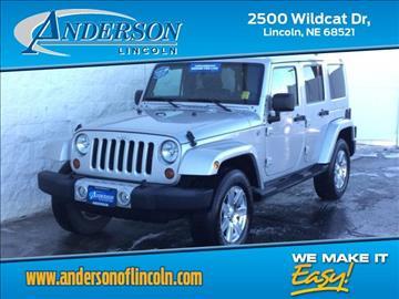 2012 Jeep Wrangler Unlimited for sale in Lincoln, NE