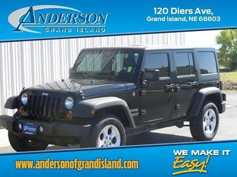 2013 Jeep Wrangler Unlimited for sale in Grand Island, NE