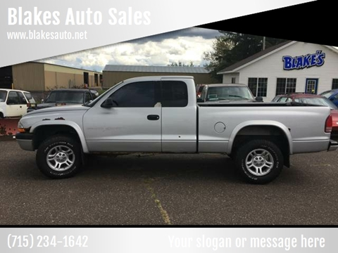 Blakes Auto Sales - Used Cars - Rice Lake WI Dealer