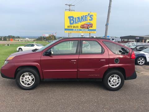 2005 Pontiac Aztek for sale in Rice Lake, WI