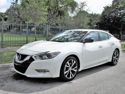 2016 Nissan Maxima for sale in Miami, FL