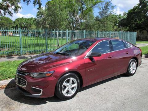 2016 Chevrolet Malibu for sale in Miami, FL