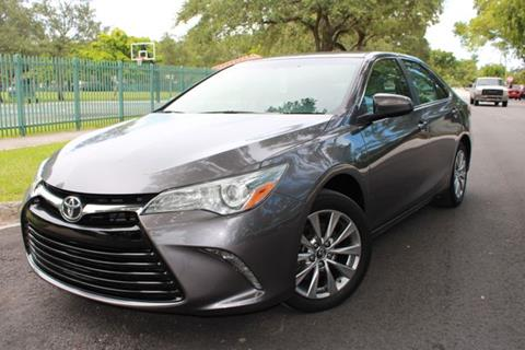 2016 Toyota Camry for sale at OCEAN AUTO SALES in Miami FL