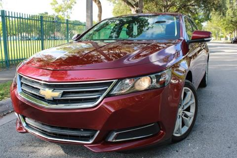 2017 Chevrolet Impala for sale at OCEAN AUTO SALES in Miami FL
