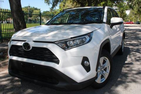 2019 Toyota RAV4 for sale at OCEAN AUTO SALES in Miami FL