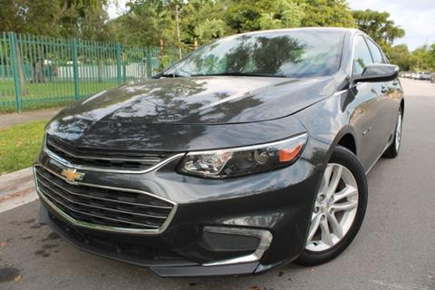 2016 Chevrolet Malibu for sale at OCEAN AUTO SALES in Miami FL
