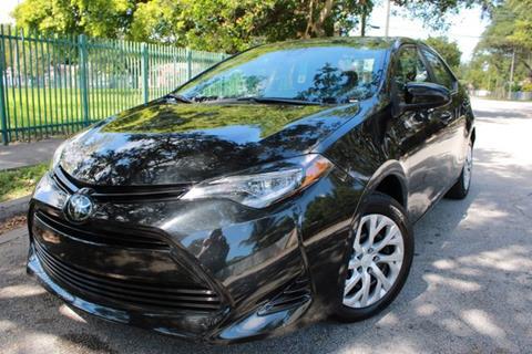 2018 Toyota Corolla for sale at OCEAN AUTO SALES in Miami FL