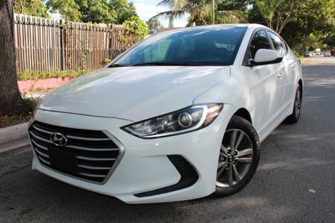 2018 Hyundai Elantra for sale at OCEAN AUTO SALES in Miami FL