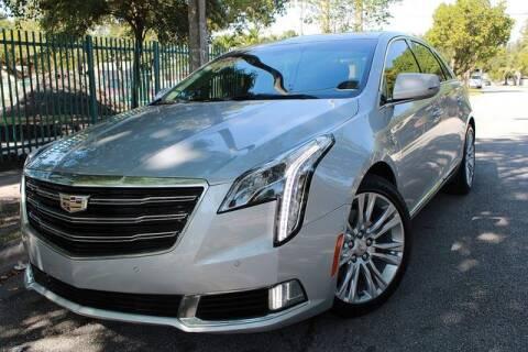 2018 Cadillac XTS for sale at OCEAN AUTO SALES in Miami FL