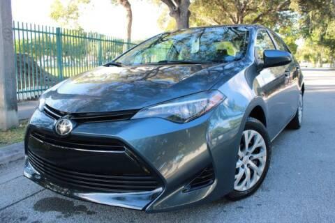 2017 Toyota Corolla for sale at OCEAN AUTO SALES in Miami FL