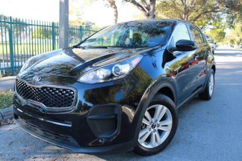 2018 Kia Sportage for sale at OCEAN AUTO SALES in Miami FL
