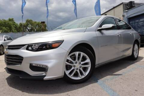2018 Chevrolet Malibu for sale at OCEAN AUTO SALES in Miami FL