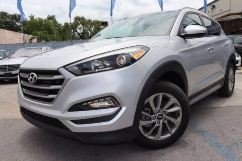 2018 Hyundai Tucson for sale at OCEAN AUTO SALES in Miami FL