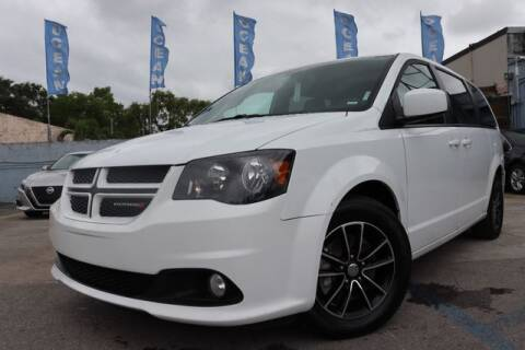 2018 Dodge Grand Caravan for sale at OCEAN AUTO SALES in Miami FL