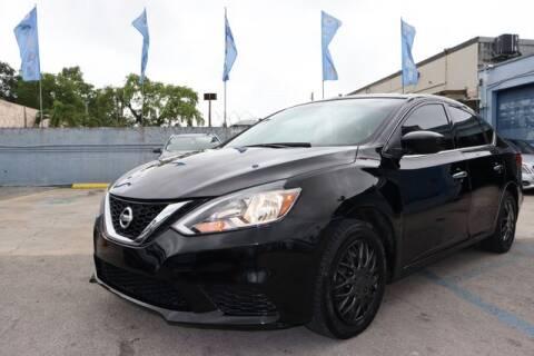2016 Nissan Sentra for sale at OCEAN AUTO SALES in Miami FL