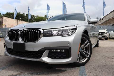 2017 BMW 7 Series for sale at OCEAN AUTO SALES in Miami FL