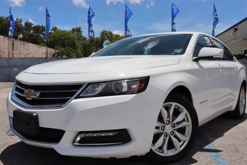 2019 Chevrolet Impala for sale at OCEAN AUTO SALES in Miami FL