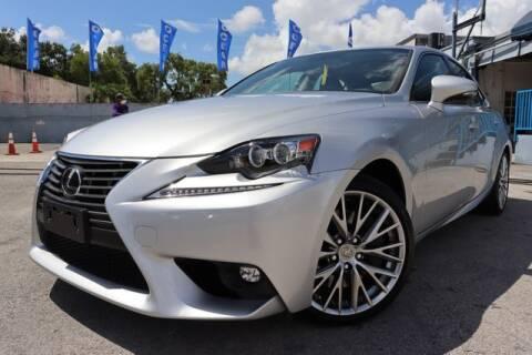 2016 Lexus IS 200t for sale at OCEAN AUTO SALES in Miami FL