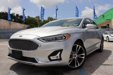 2019 Ford Fusion for sale at OCEAN AUTO SALES in Miami FL