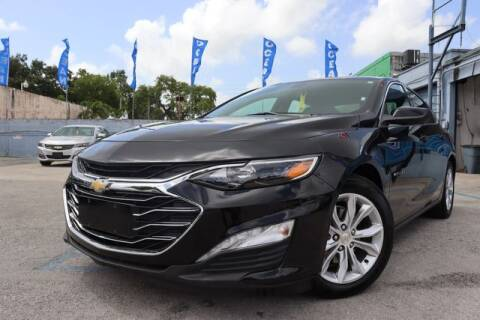 2020 Chevrolet Malibu for sale at OCEAN AUTO SALES in Miami FL