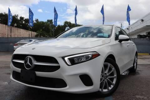 2019 Mercedes-Benz A-Class for sale at OCEAN AUTO SALES in Miami FL