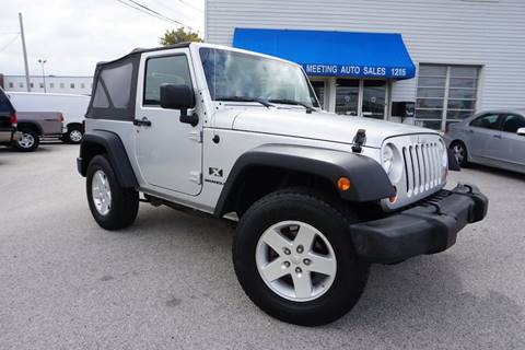 2009 Jeep Wrangler for sale in Consohocken, PA