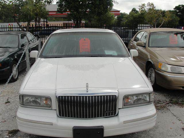 1996 Lincoln Town Car Executive In Bradenton Fl Atlantic Auto Inc