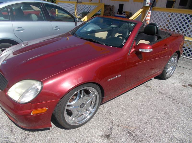 2001 MercedesBenz Slk SLK230 Kompressor 2dr Convertible In