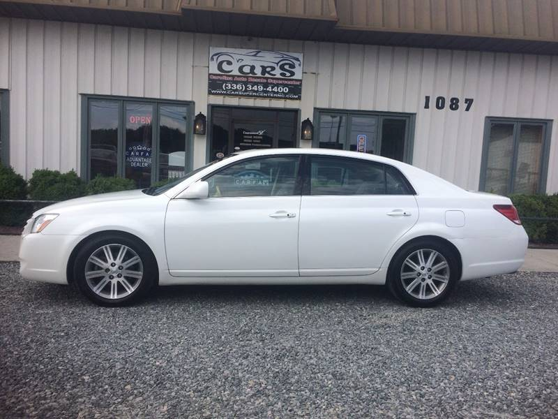 2007 toyota avalon limited 4dr sedan in reidsville nc. Black Bedroom Furniture Sets. Home Design Ideas