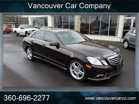 2011 Mercedes-Benz E-Class for sale in Vancouver, WA