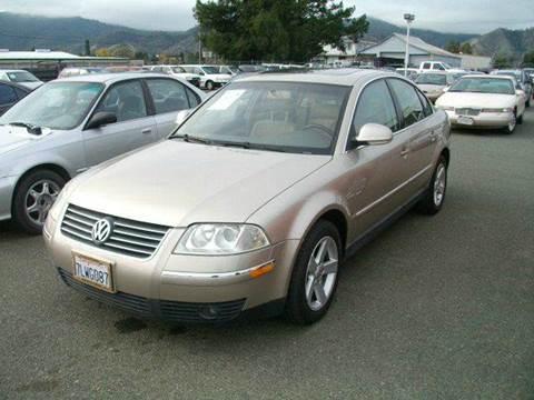 2004 Volkswagen Passat for sale at Mendocino Auto Auction in Ukiah CA