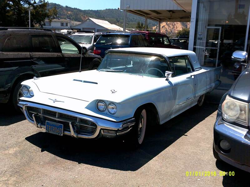 1960 Ford Thunderbird for sale at Mendocino Auto Auction in Ukiah CA