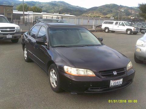 1999 Honda Accord for sale in Ukiah, CA