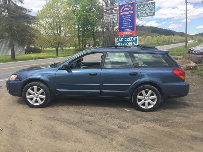 2006 Subaru Outback AWD 2.5i 4dr Wagon w/Automatic - Cooperstown NY