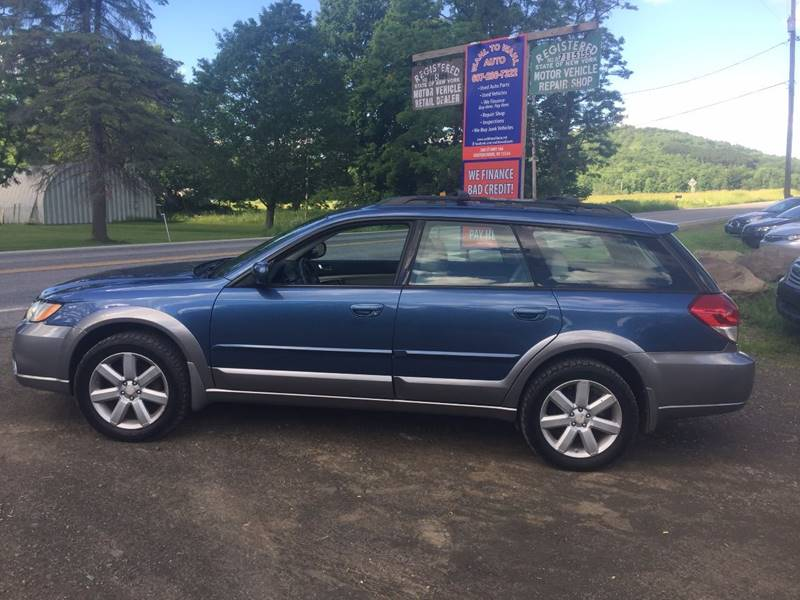 2008 Subaru Outback AWD 2.5i Limited 4dr Wagon 4A - Cooperstown NY