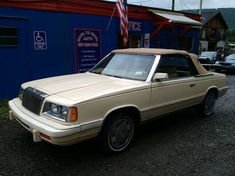 1986 Chrysler Le Baron