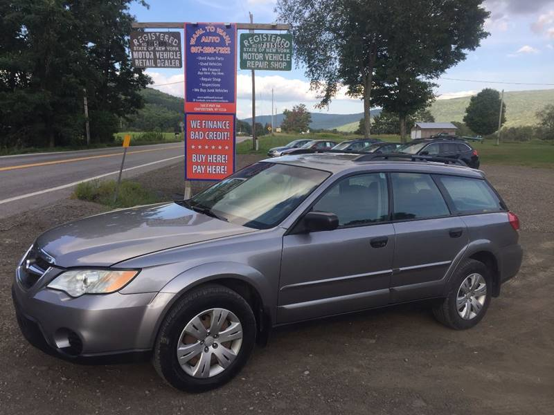 2008 Subaru Outback AWD 4dr Wagon 5M - Cooperstown NY