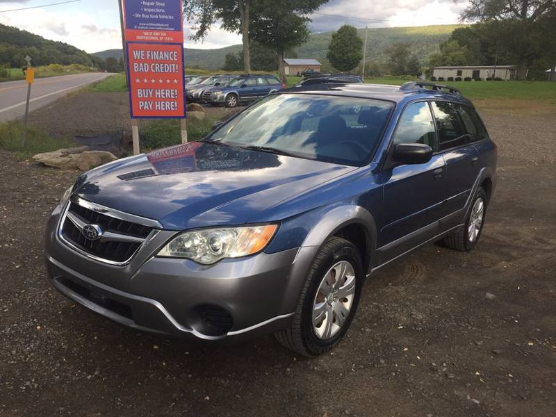 2008 Subaru Outback AWD 4dr Wagon 4A - Cooperstown NY