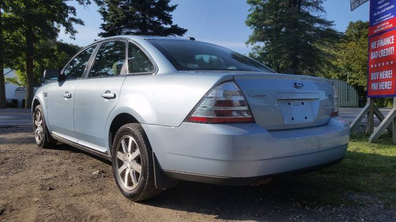 2009 Ford Taurus AWD SEL 4dr Sedan - Cooperstown NY