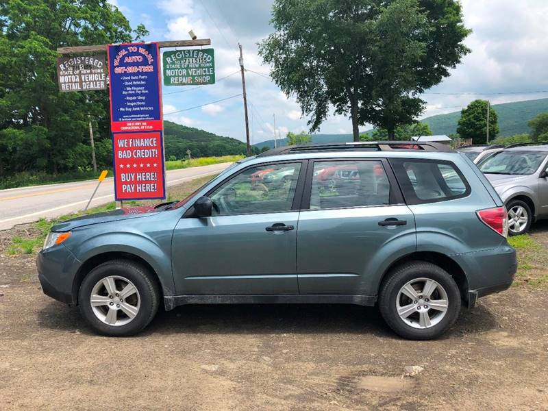 2012 Subaru Forester 25x In Cooperstown Ny Wahl To Wahl Auto