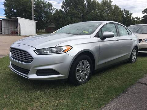 2014 Ford Fusion for sale in Ponca City, OK